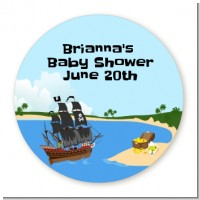 Pirate Ship - Personalized Baby Shower Table Confetti