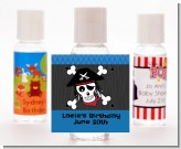 Pirate Skull - Personalized Birthday Party Hand Sanitizers Favors