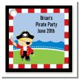 Pirate - Personalized Birthday Party Card Stock Favor Tags thumbnail