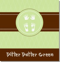 Tiny Toes Pitter Patter Neutral Baby Shower Theme