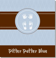 Tiny Toes Pitter Patter Boy Baby Shower Theme