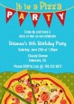 Pizza Party - Birthday Party Invitations thumbnail