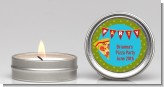 Pizza Party - Birthday Party Candle Favors