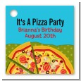 Pizza Party - Personalized Birthday Party Card Stock Favor Tags thumbnail