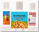 Pizza Party - Personalized Birthday Party Hand Sanitizers Favors
