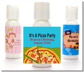 Pizza Party - Personalized Birthday Party Lotion Favors