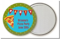 Pizza Party - Personalized Birthday Party Pocket Mirror Favors