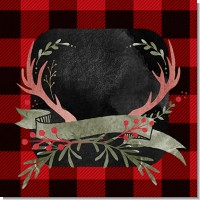 Lumberjack Buffalo Plaid Birthday Party Theme