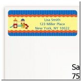 Playground - Birthday Party Return Address Labels