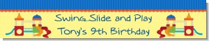 Playground - Personalized Birthday Party Banners