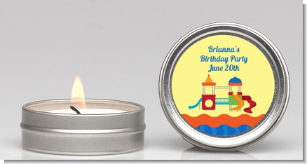 Playground - Birthday Party Candle Favors