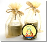 Playground - Birthday Party Gold Tin Candle Favors