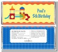 Playground - Personalized Birthday Party Candy Bar Wrappers thumbnail