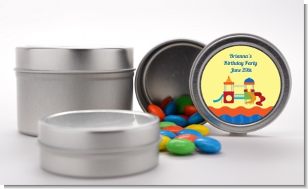 Playground - Custom Birthday Party Favor Tins