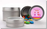 Playground Girl - Custom Birthday Party Favor Tins