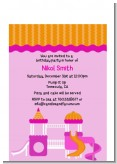 Playground Girl - Birthday Party Petite Invitations