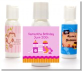 Playground Girl - Personalized Birthday Party Lotion Favors