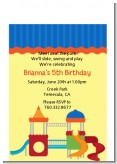 Playground - Birthday Party Petite Invitations