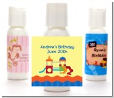 Playground - Personalized Birthday Party Lotion Favors