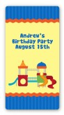 Playground - Custom Rectangle Birthday Party Sticker/Labels