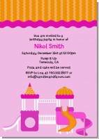 Playground Girl - Birthday Party Invitations