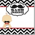 Little Man Mustache Black/Grey Baby Shower Theme thumbnail