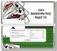 Casino Night Royal Flush - Personalized Birthday Party Candy Bar Wrappers thumbnail