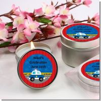 Police Car - Birthday Party Candle Favors
