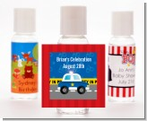 Police Car - Personalized Birthday Party Hand Sanitizers Favors