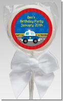 Police Car - Personalized Baby Shower Lollipop Favors