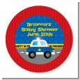 Police Car - Personalized Baby Shower Table Confetti thumbnail
