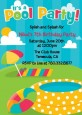 Pool Party - Birthday Party Invitations thumbnail
