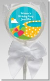 Pool Party - Personalized Birthday Party Lollipop Favors