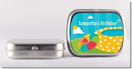 Pool Party - Personalized Birthday Party Mint Tins