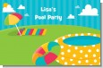 Pool Party - Personalized Birthday Party Placemats thumbnail