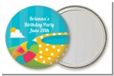 Pool Party - Personalized Birthday Party Pocket Mirror Favors