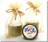 Poolside Pool Party - Birthday Party Gold Tin Candle Favors