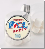 Poolside Pool Party - Personalized Birthday Party Candy Jar