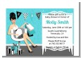 Posh Mom To Be Blue - Baby Shower Petite Invitations thumbnail