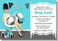 Posh Mom To Be Blue - Baby Shower Invitations thumbnail