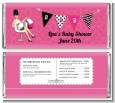 Posh Mom To Be - Personalized Baby Shower Candy Bar Wrappers thumbnail