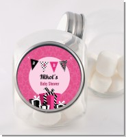 Posh Mom To Be - Personalized Baby Shower Candy Jar