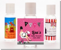 Posh Mom To Be - Personalized Baby Shower Hand Sanitizers Favors