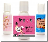 Posh Mom To Be - Personalized Baby Shower Lotion Favors