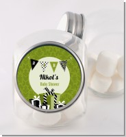 Posh Mom To Be Neutral - Personalized Baby Shower Candy Jar