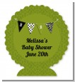 Posh Mom To Be Neutral - Personalized Baby Shower Centerpiece Stand thumbnail
