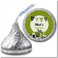 Posh Mom To Be Neutral - Hershey Kiss Baby Shower Sticker Labels