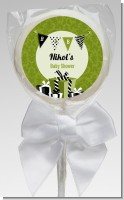 Posh Mom To Be Neutral - Personalized Baby Shower Lollipop Favors