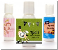Posh Mom To Be Neutral - Personalized Baby Shower Lotion Favors