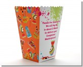 Pottery Painting - Personalized Birthday Party Popcorn Boxes